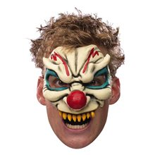 Picture of Chinless Evil Clown Adult Mask