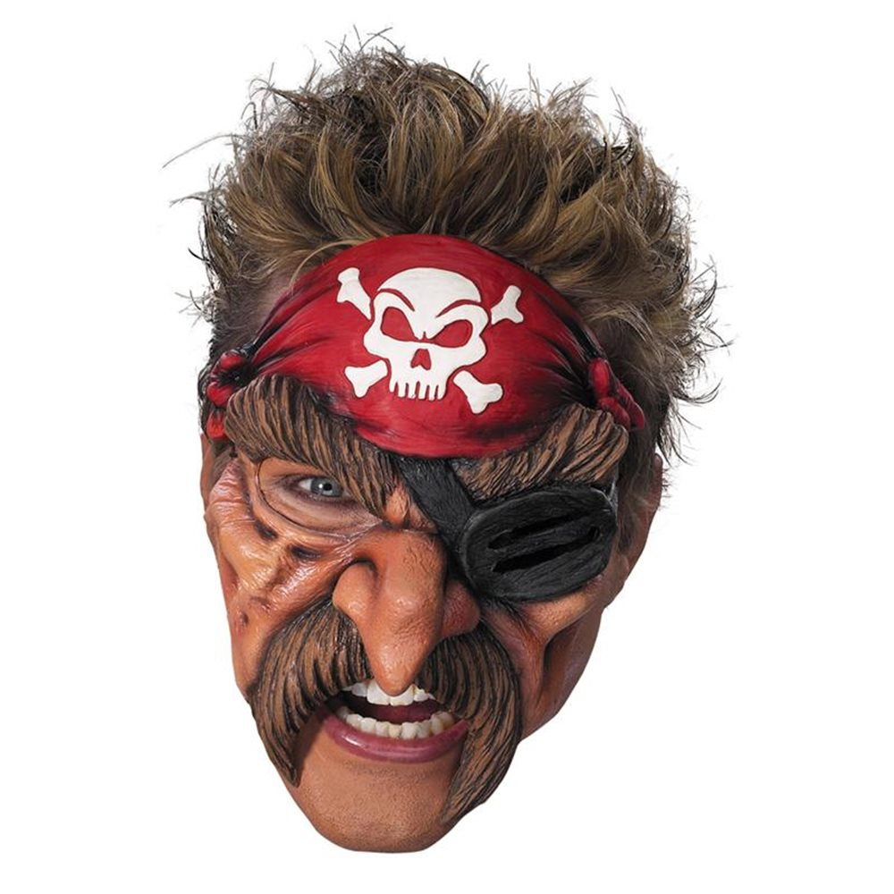 Picture of Pirate Adult Vinyl Chinless Mask