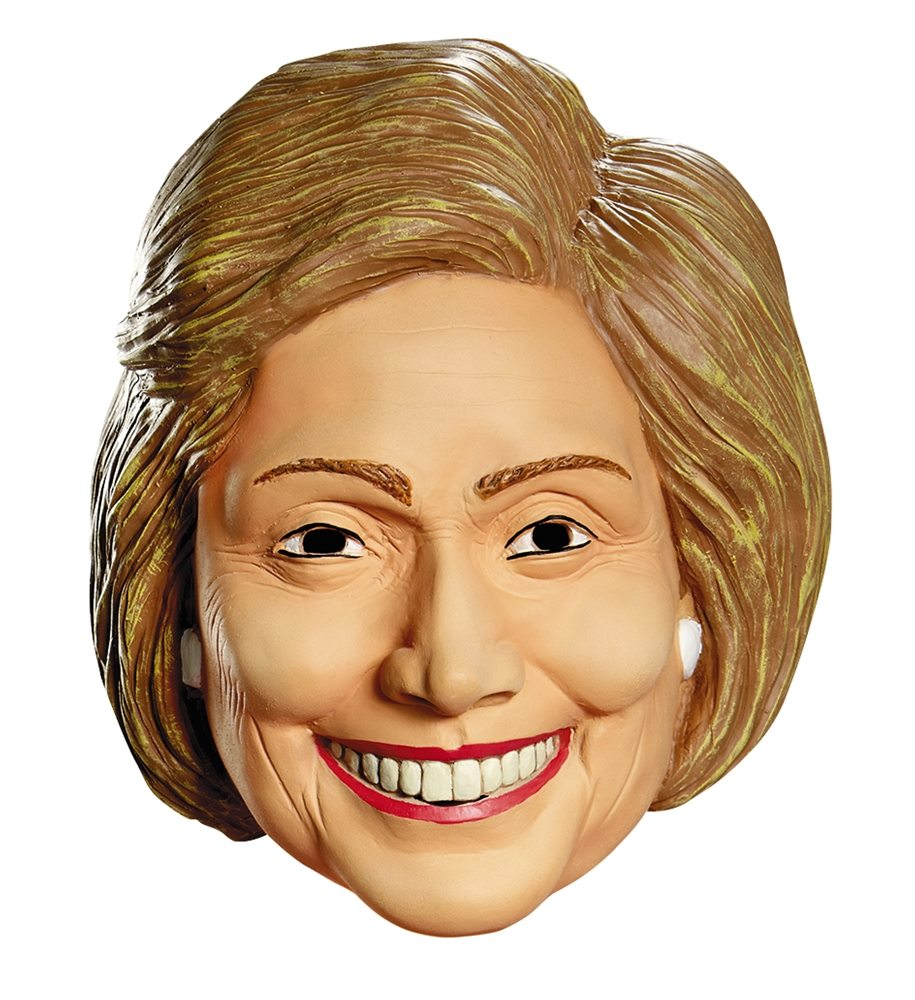 Picture of Politically Incorrect Hillary Clinton Mask