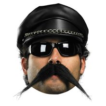 Picture of Facial Hair Biker Moustache