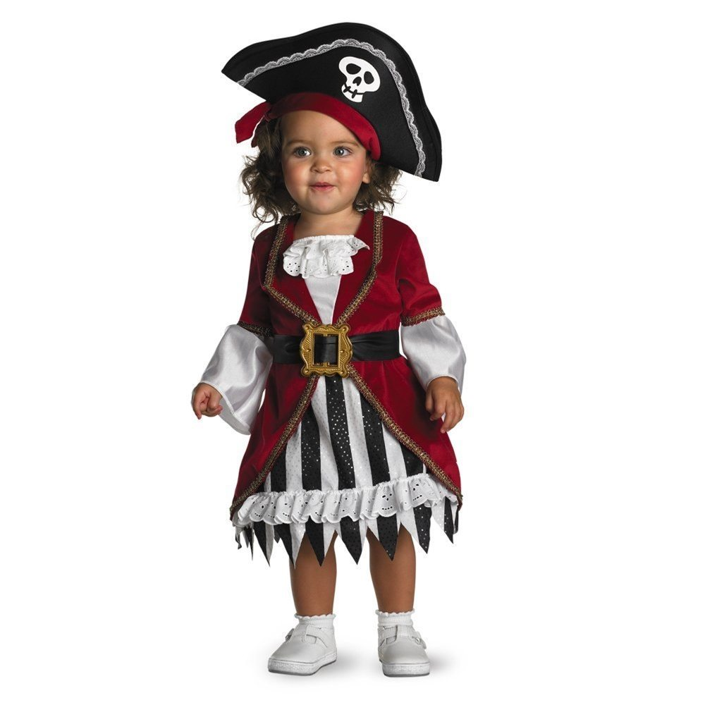Picture of Too Cute To Spook Pirate Princess Infant Costume