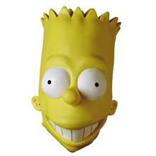 Picture of Simpsons, The Bart Simpson - Adult Vinyl Oversized Mask