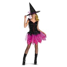 Picture of Gleam Girls Dazzling Witch Costume