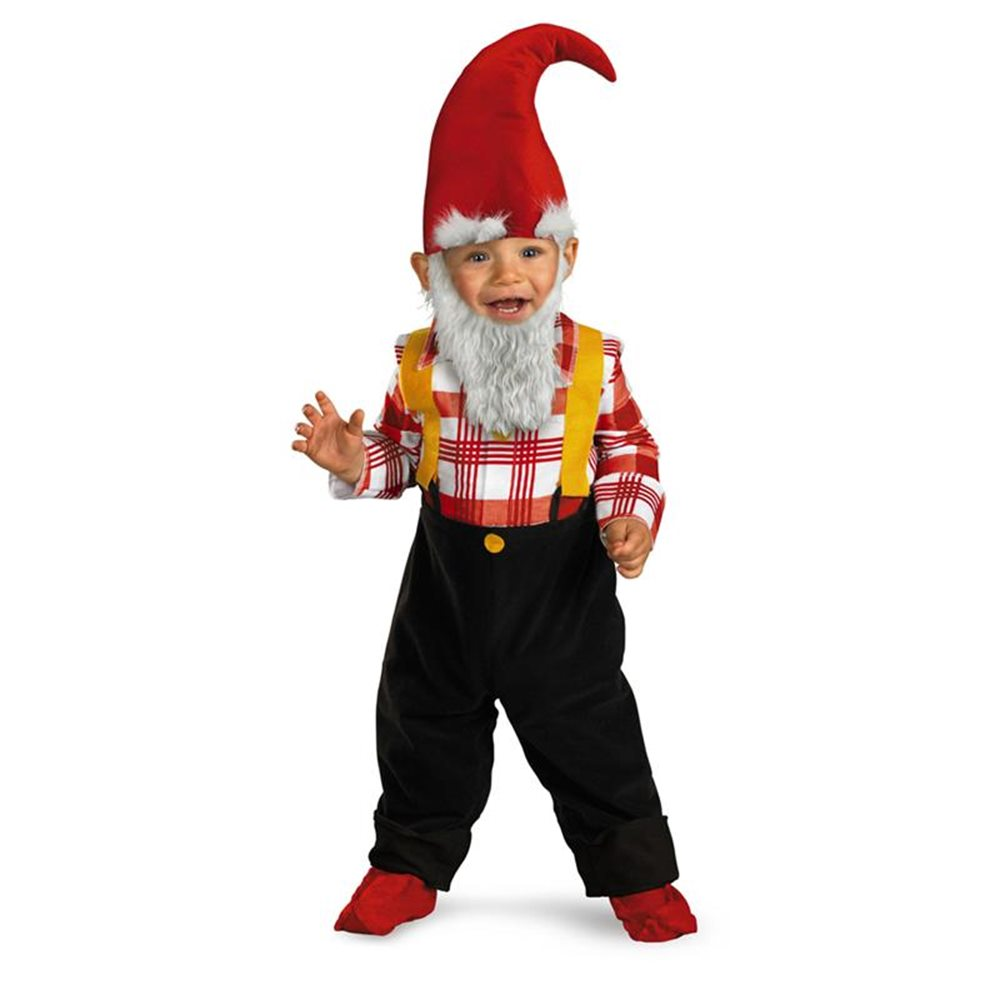 Picture of Too Cute To Spook Garden Gnome Infant Costume