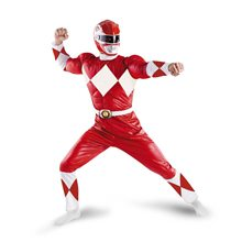 Picture of Power Rangers Red Ranger Classic Muscle Adult Mens Costume