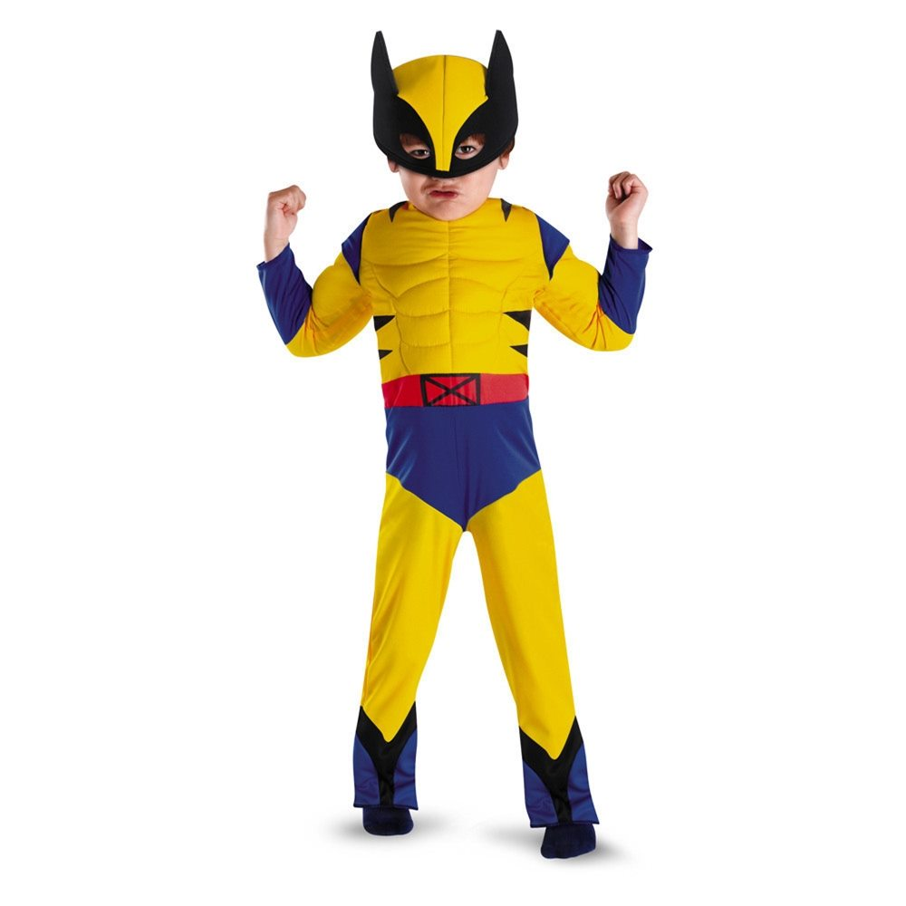 Picture of Wolverine Deluxe Muscle Toddler Costume