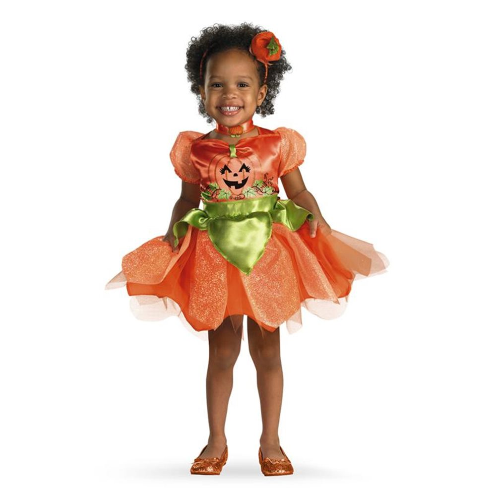 Picture of Pumpkin Patch Princess Deluxe Toddler Costume