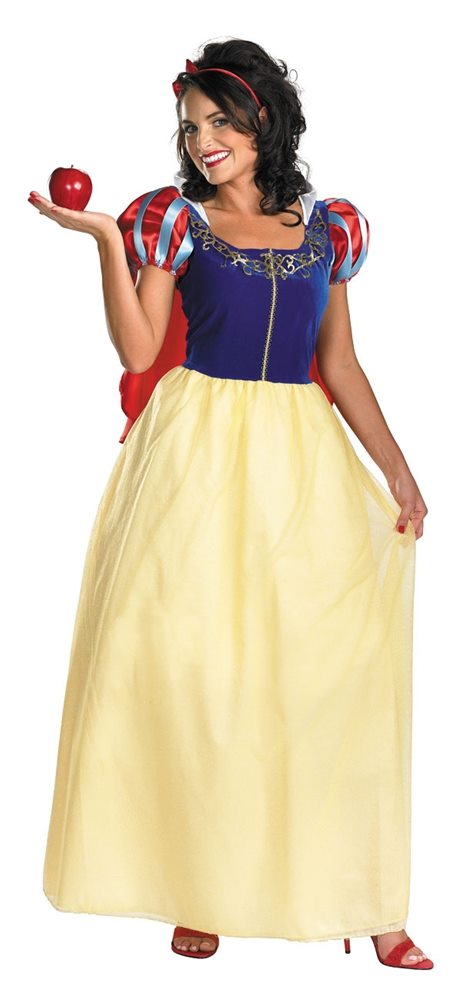 Picture of Snow White Deluxe Adult Womens Costume