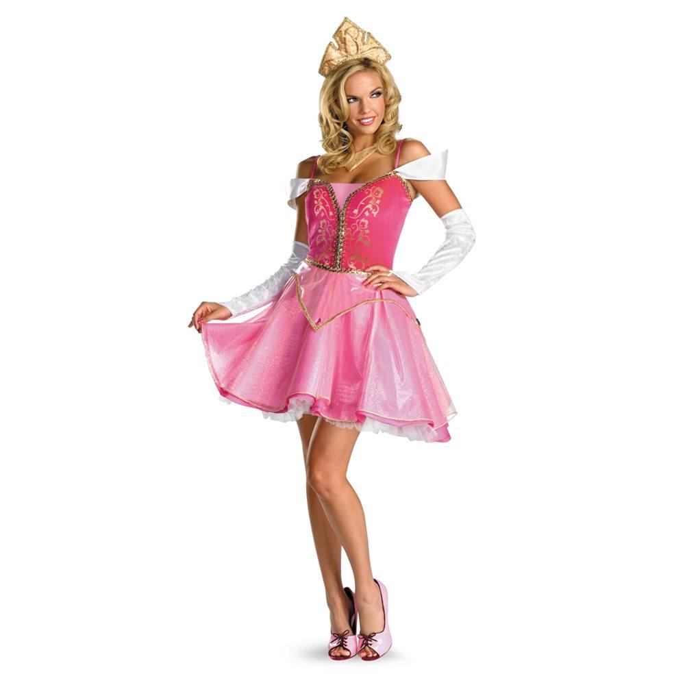 Picture of Sassy Sleeping Beauty Aurora Prestige Adult Womens Costume