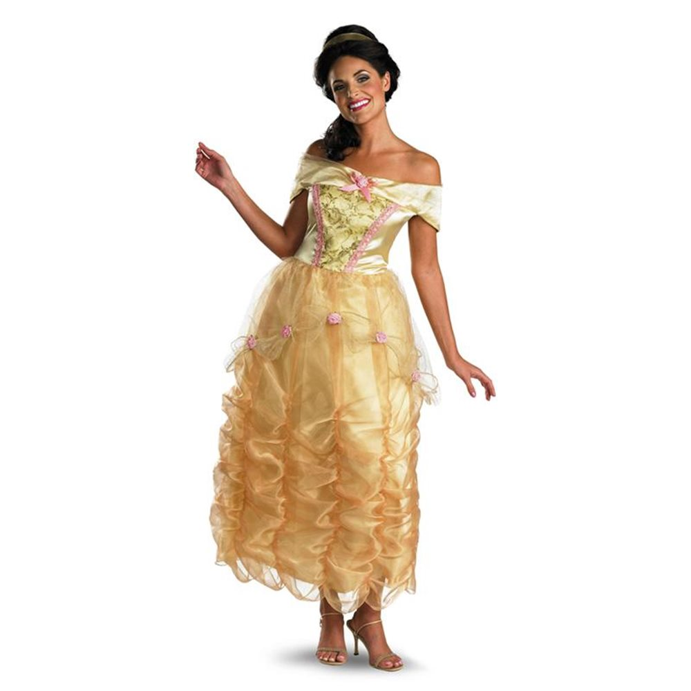 Picture of Beauty and the Beast Deluxe Belle Adult Womens Costume