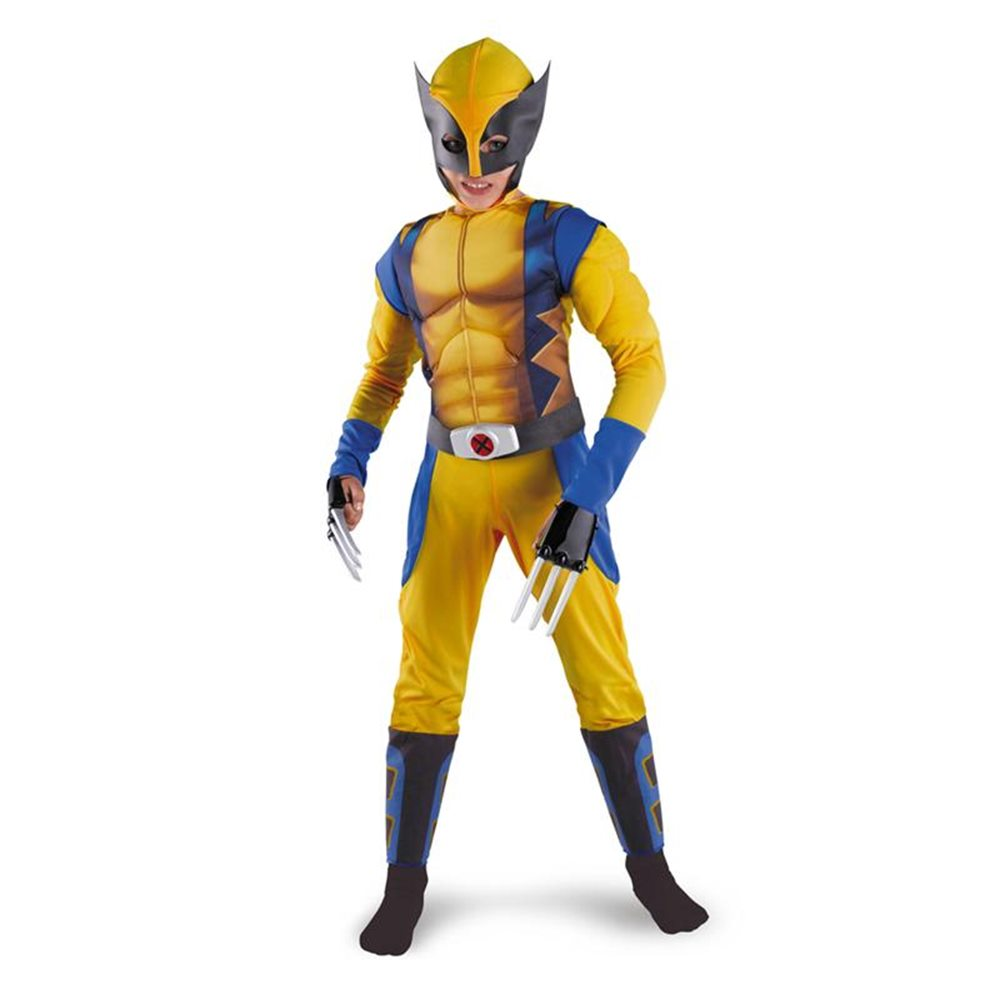 Picture of X-Men Origins: Wolverine Classic Muscle Child Boys Costume