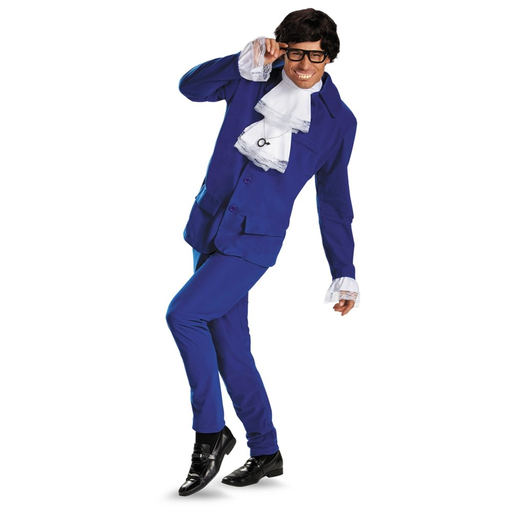 Picture of Austin Powers Deluxe Adult Mens Costume