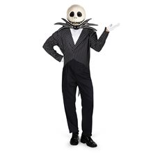 Picture of Jack Skellington Deluxe Adult Mens Costume