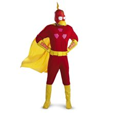 Picture of Simpsons, The Radioactive Man Deluxe Costume