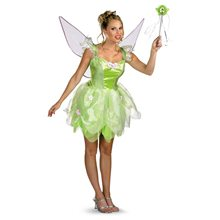 Picture of Disney Fairies Tinker Bell Prestige Adult Costume