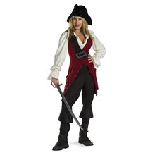 Picture of Elizabeth Pirate Deluxe Juniors Costume