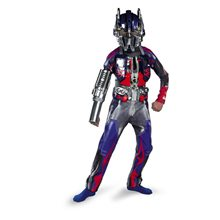 Picture of Transformers Optimus Prime Movie Deluxe Child Costume
