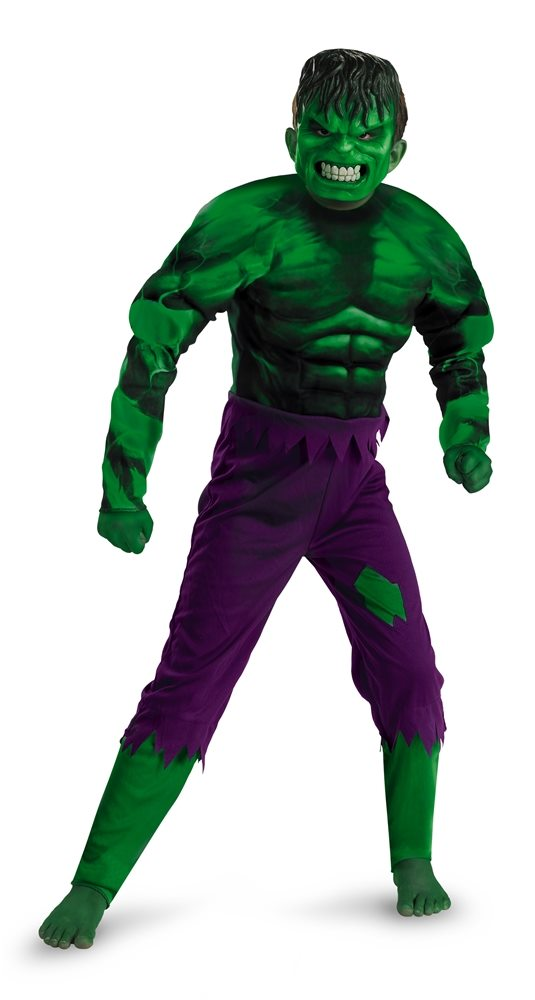 Picture of Hulk Classic Muscle Child Costume