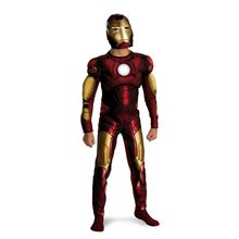 Picture of Marvel Iron Man Classic Muscle Child Costume