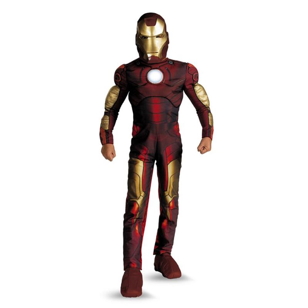 Picture of Marvel Iron Man Light-Up Classic Muscle Child Costume