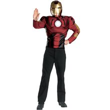 Picture of Iron Man the Movie Muscle Adult Mens Costume
