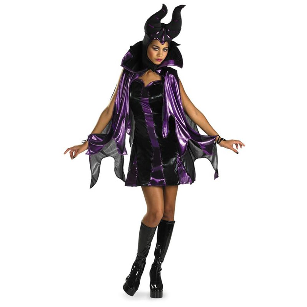 Picture of Wicked Wear Maleficent Juniors Costume