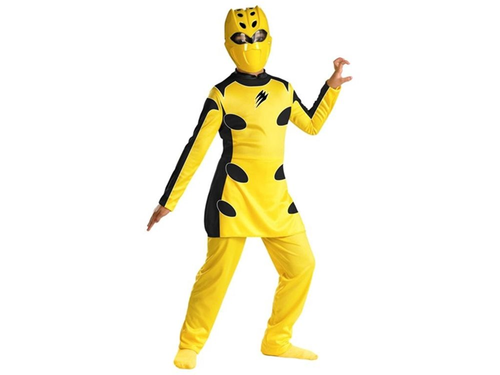 Picture of Power Rangers Jungle Fury Yellow Ranger Quality Child Costume