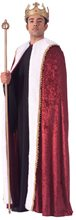 Picture of Burgundy Velvet King's Robe