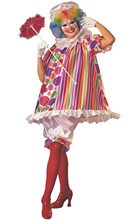 Picture of Betty Brite Clown Adult Womens Costume