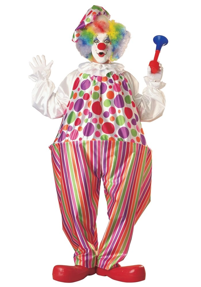 Picture of Snazzy Clown Adult Unisex Costume