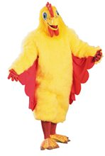 Picture of Chicken Suit Adult Unisex Costume
