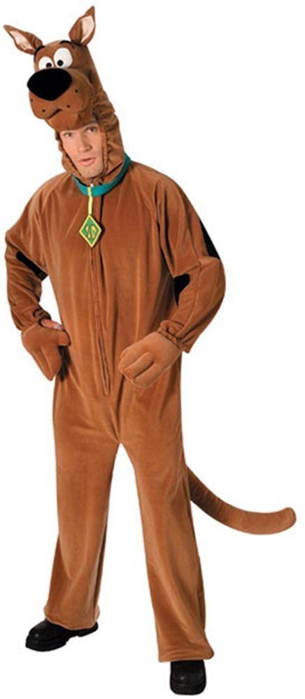 Picture of Scooby-Doo Plush Deluxe Adult Unisex Costume