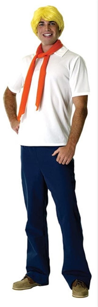 Picture of Scooby-Doo Fred Adult Mens Costume