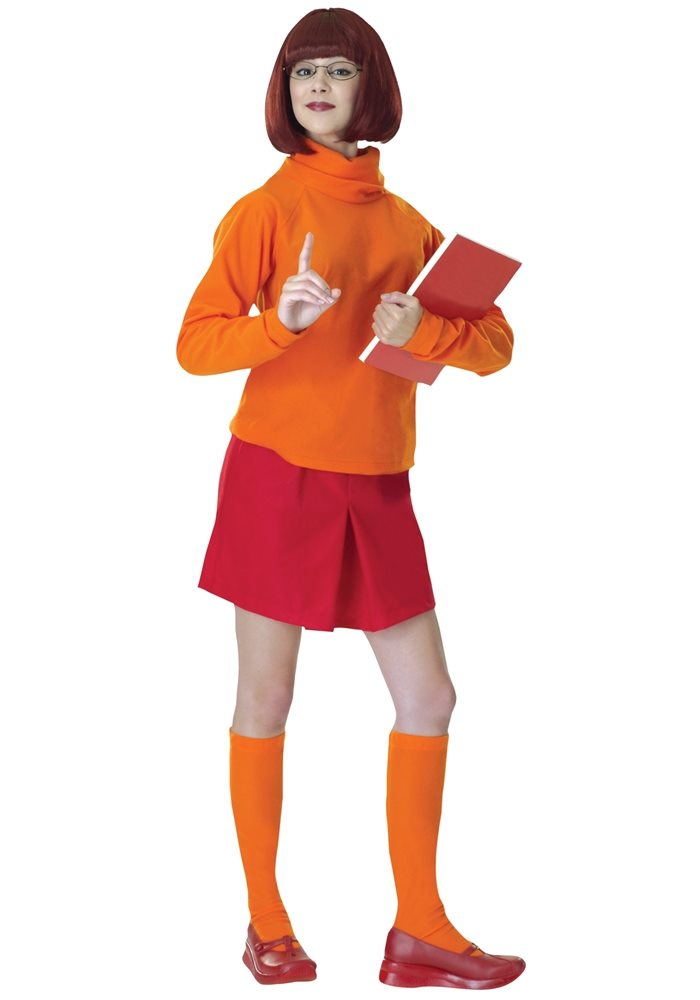 Picture of Scooby-Doo Velma Adult Womens Costume