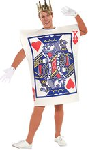 Picture of King of Hearts Card Adult Mens Costume
