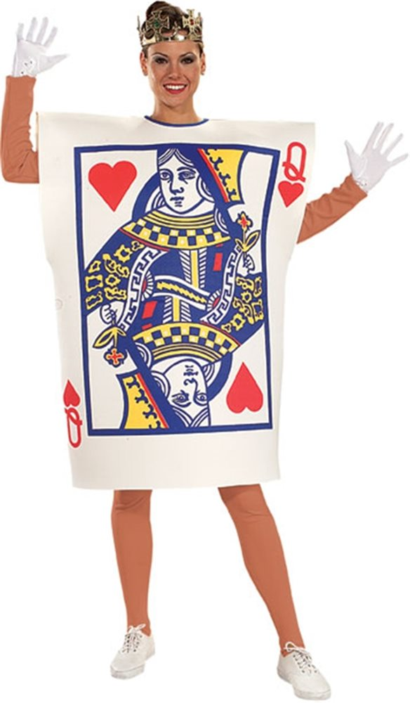Picture of Queen of Hearts Card Adult Costume