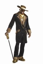 Picture of Supa Mac Daddy Adults Mens Costume