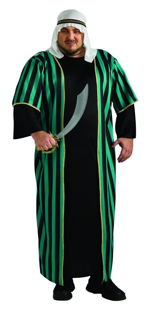 Picture of Arab Sheik Adult Mens Plus Size Costume