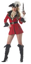 Picture of Pirate Captain's Treasure Adult Womens Costume