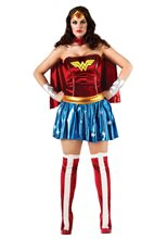 Picture of Wonder Woman Adult Womens Plus Size Costume