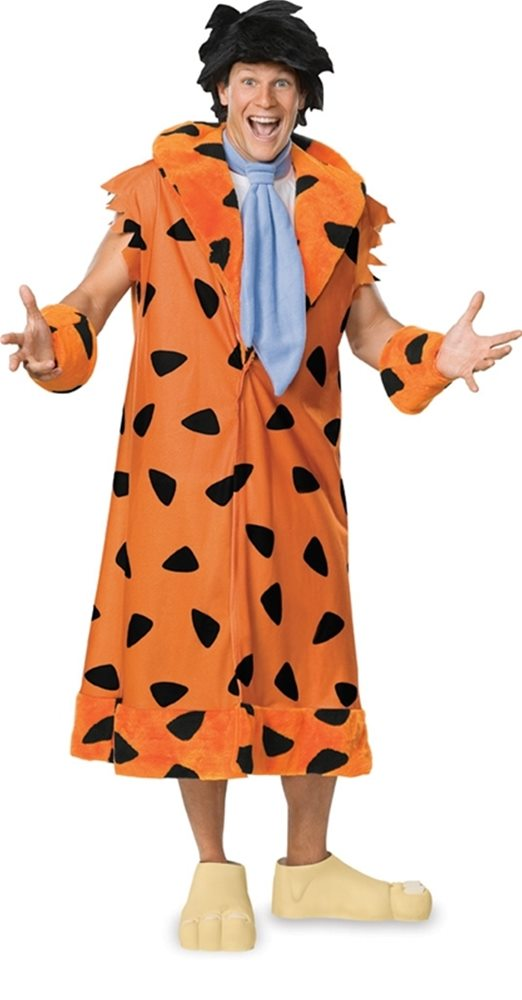 Picture of Fred Flintstone Adult Mens Plus Size Costume