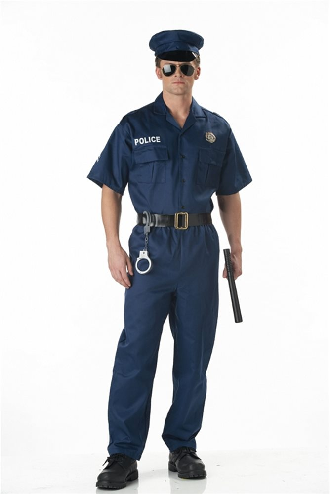 Picture of Police Officer Adult Costume