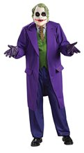 Picture of The Joker Deluxe Adult Mens Plus Size Costume
