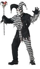 Picture of Evil Jester Adult Costume