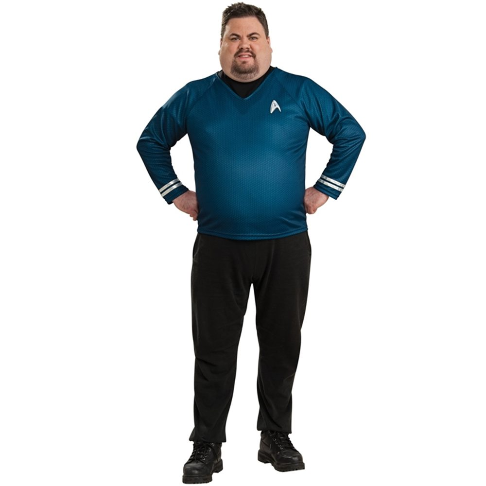 Picture of Star Trek Movie Spock Shirt Plus Size Costume