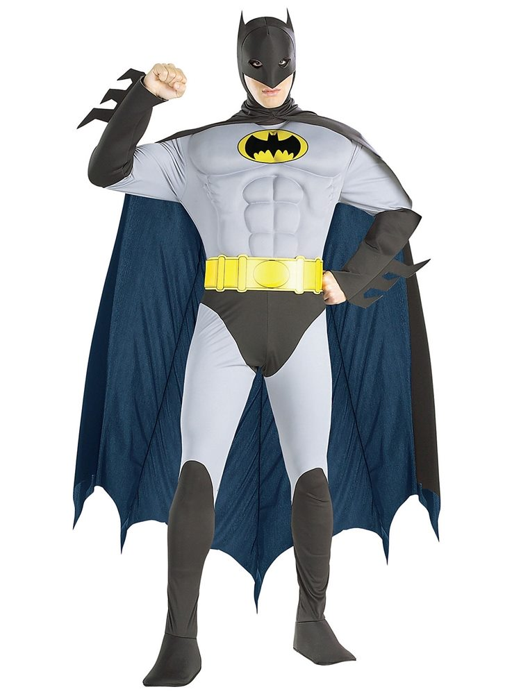 Picture of Batman Classic Muscle Chest Adult Mens Costume