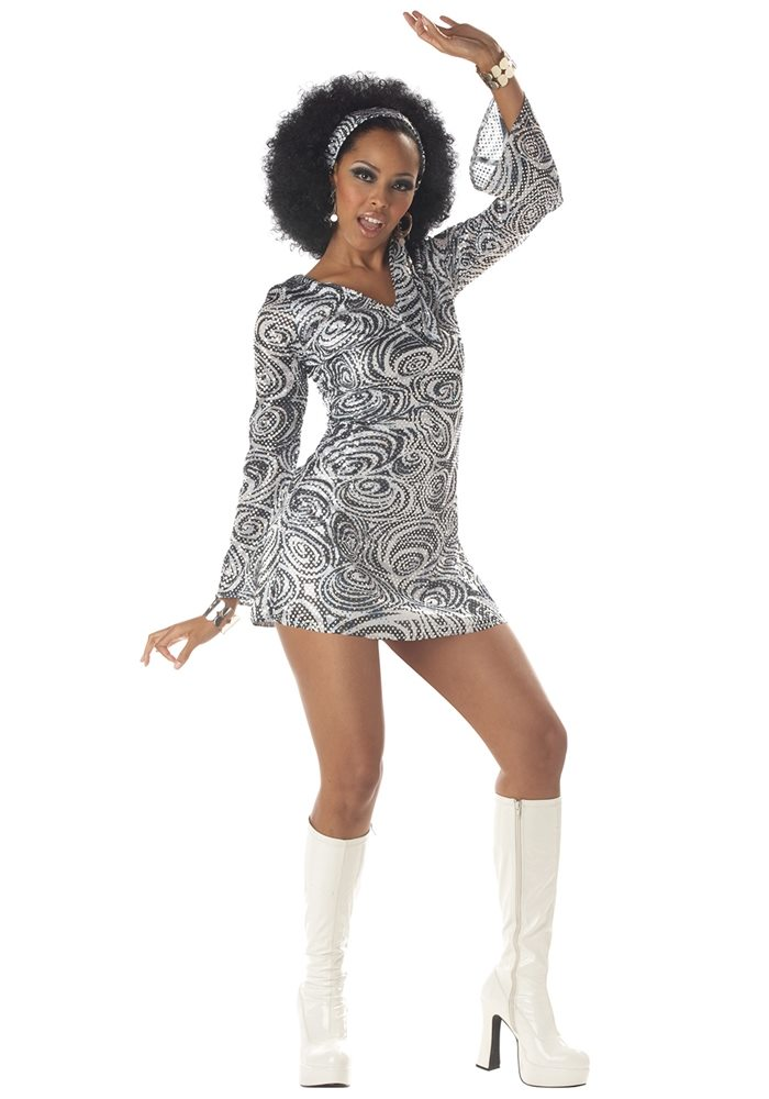 Picture of Sexy Disco Diva Adult Womens Costume
