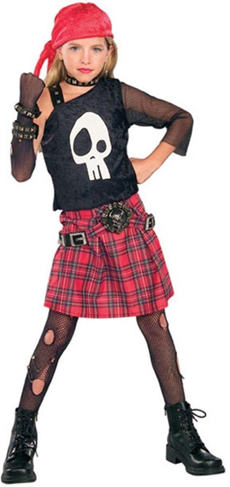 Picture of Punk Skull Diva Child Costume