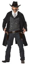 Picture of Gunfighter Cowboy Adult Mens Costume