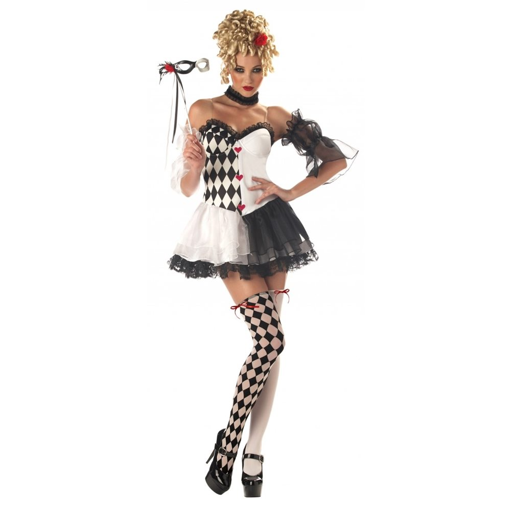 Picture of Le Belle Harlequin Adult Womens Costume